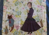 Beatrix Potter (Sue) with rebbits, Jemima Puddleduck and wicked fox